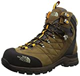 The North Face M Verbera Hiker II GTX, Hombre Botas de senderismo, Marrón / Naranja, 45
