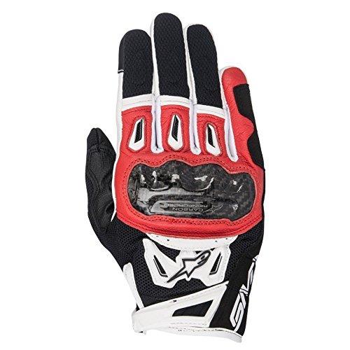 Alpinestars SMX-2 Air Carbon V2 Glove Nero Rosso Bianco 3XL