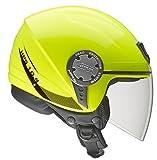 Givi Demi-Jet-Helm, Neon Gelb, 60