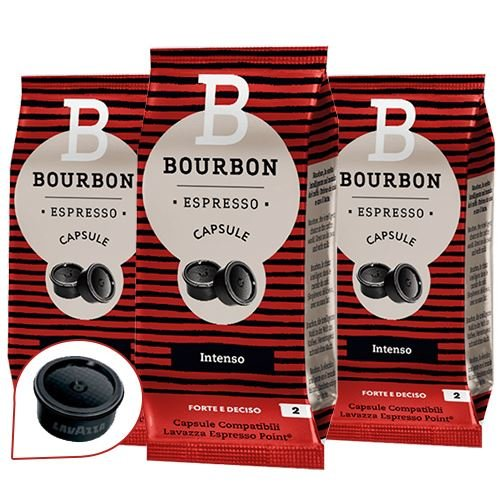 Bourbon 100 capsule compatibili lavazza espresso point