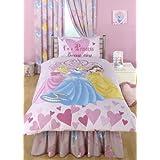 Disney Princesse Je suis une Princesse quotidien 182,9cm Rideaux