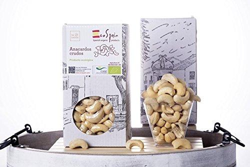 Anacardi ecologici crudi Gourmet. Sottovuoto prodotto confezionato 350 gr.