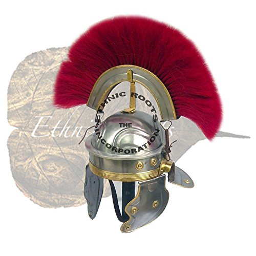 Gallic Helm, Centurio-re-//enactment larp Rollenspiel/fancy Kleid Theater/Inklusive Ständer ()