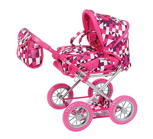 knorr-toys-knorr63194-combi-ruby-crazy-carres-poupees-landau-et-poussette