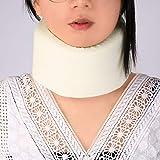 Safety Soft White Firm Foam Cotton Cervical Collar Neck Brace Support Shoulder Pain Relief Color Easy Adjustment