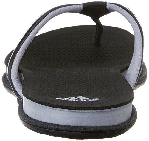 Adidas Performance Supercloud plus Thong W Sandal Athletic, noir / mid gris / argent, 5 M Us Black/Mid Grey/Silver