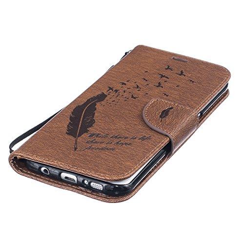 Cover Galaxy S7 Edge Custodia , Retro Diamante strass Design Con Cinturino da Polso Magnetico Snap-on Book style Internamente Silicone TPU Custodie Case in pelle Protettiva Flip Per Samsung Galaxy S7  C-01