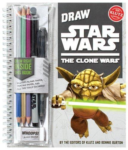 Draw Star Wars: The Clone Wars by Editors Of Klutz, Bonnie Burton (2009) Spiral-bound