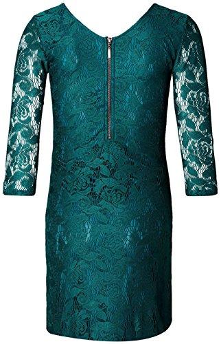 Noppies Dress Woven Ss Elise - Robe de Maternité - Femme Bottle (C177)