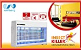 #2: Wellberg 30W Slim Flying Insect Killer with 2* Year Warranty UV Tube Insect Catcher Bug Zapper Repellent Machine with HIGH Voltage Current Rectifier Electric System
