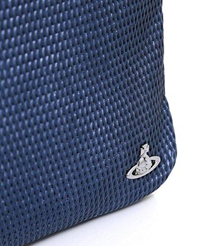 Vivienne Westwood Man Hommes Sac bandoulière Wimbledon Bleu Bleu