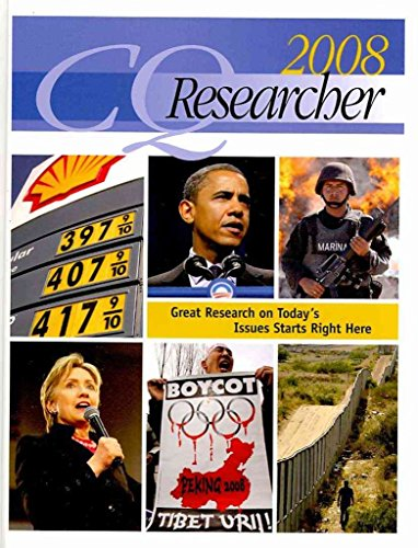 [The CQ Researcher 2008] (By: Colin Tom) [published: April, 2009]