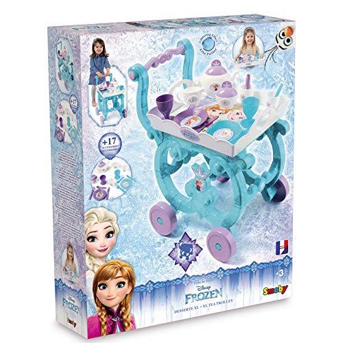 #1118 Disney Frozen Servierwagen mit umfangreichem Zubehör und abnehmbarem Tablett - Eiskönigin...