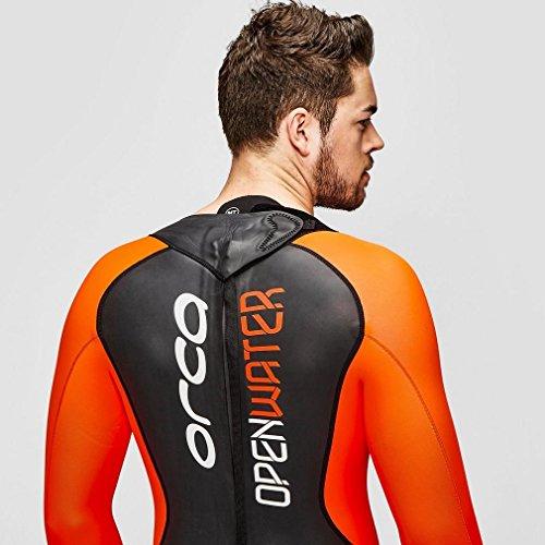 ORCA Openwater Herren Neoprenanzug, Schwarz/Orange, MT