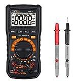 Tacklife DM05 Classic Multimeter TRMS 6000 Counts Multi Tester Switchable Auto/Manual Range 1000V Volt, Amp, Ohm, Hertz, Continuity, Triode Test