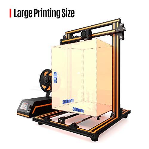 Aibecy Anet E16 DIY 3D-Drucker Hochpräzise Selbstmontage 300 * 300 * 400mm Große Druckgröße Aluminiumlegierung Rahmen LCD Display Auto Faden Fütterung - 7