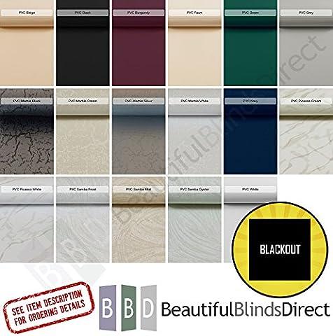 PVC Blackout Vertical Blind Replacement Slats (3.5
