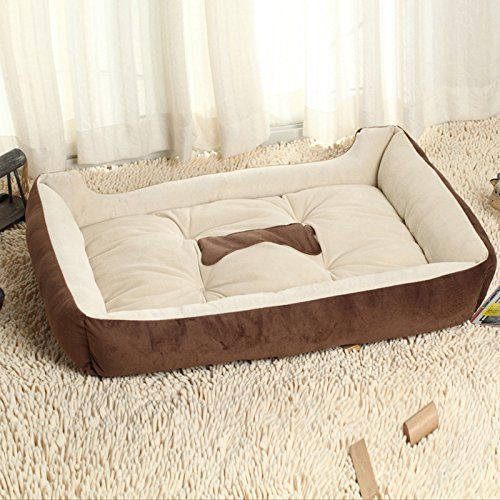 GBL®, Hundebett / Haustier-Bett, Lounger-Stil, luxuriös, wasserdicht, weiches Innenfutter aus Mikrofaser, lang anhaltender, wasserabweisender Überzug, extra weich gepolstert, hochwertige Materialien (Lounger Hundebett)