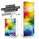 "Posterdeluxe 14060[C] Kühlschrank- / Spülmaschinen-Aufkleber ""Retro-Pop-Mosaik"""