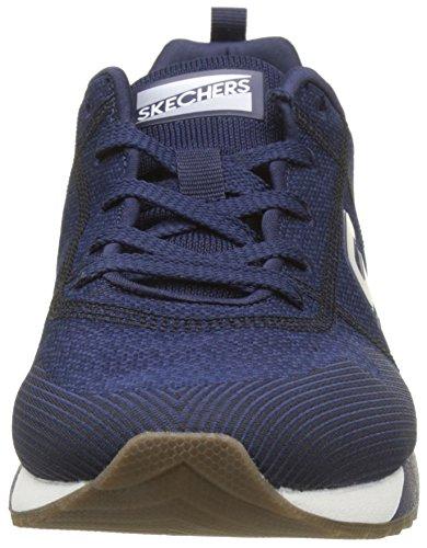 Uomo black Skechers Blu OG Cozine Running Navy Scarpe 90 XwOqTZ
