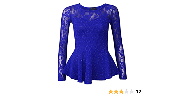 Haut Plafonnement des Manches Coton Perl/é Sequin Bol/éro Haussement Femmes Fast Fashion