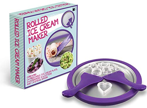 Ice Cream Roll Maker - Make Amazing Ice Cream Desserts at Home in an Instant - Food Grade DIY Rolled Ice Cream, Frozen Yoghurt Grill