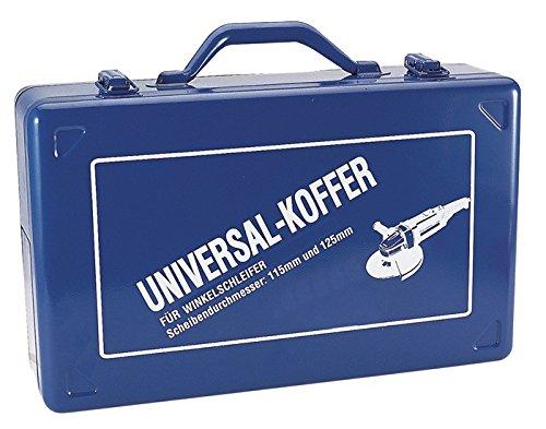 KAYSER GmbH  Winkelschleiferkoffer 390x240x112mm blau f.D.115/125mm Stahlblech