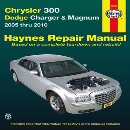 title-chrysler-300-dodge-charger-magnum-2005-thru-2010-haynes-repair-manual-1st-by-editors-of-haynes