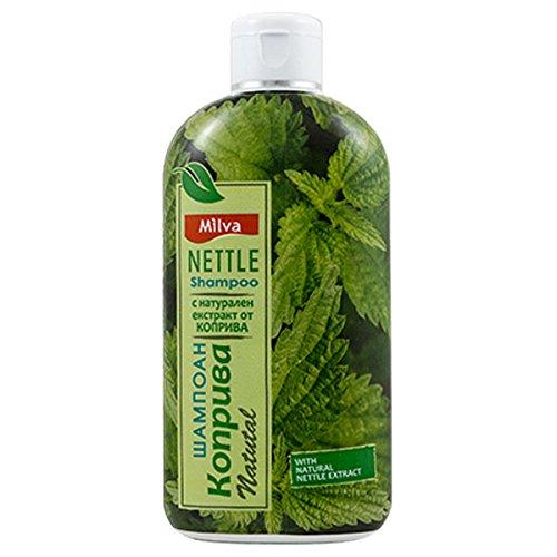 Brennnessel-Shampoo-hilft dabei die Talgproduktion zu regulieren, reduziert Schuppen und lindert Kopfhautirritationen -für kräftiges, gesundes Haar, 200ml