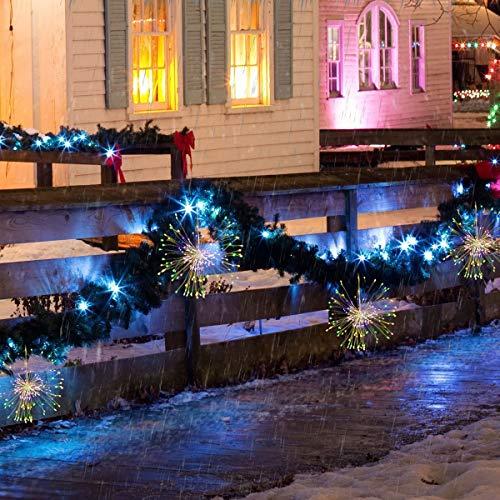 erketten 300 LEDS Starburst Licht mit Fernbedienung für Fairy Garden Patio Zimmer Hochzeit Halloween (RGB) ()