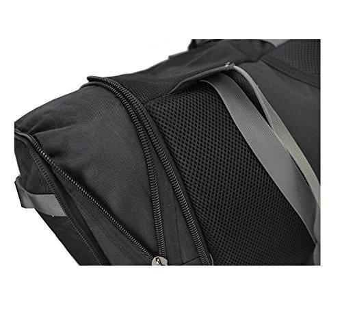 LF&F Backpack 30-40L Di Grande Capacità Zaino Da Montagna Sportivo All'Aria Aperta Borsa Da Viaggio Multifunzione A Lunga Distanza Borsa In Nylon Antifurto Impermeabile Borsa Da Viaggio A 30-40L A