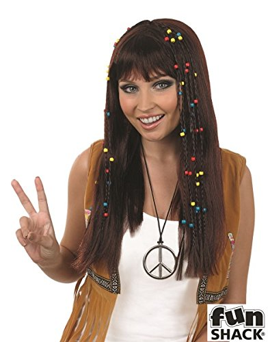 Ladies Braided Hippie Wig