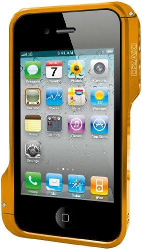 O'Ozaki-Custodia Bumper per iPhone 4/4S, colore: