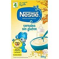 NESTLÉ Papilla Cereales Sin Gluten - Alimento para Bebés