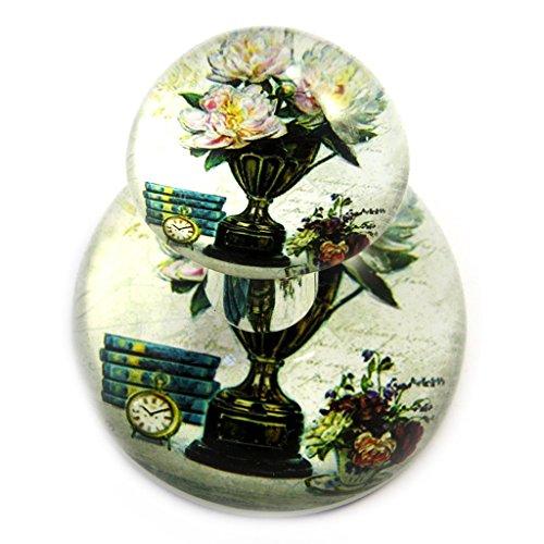 Les Trésors De Lily [M3168] - Flacon de parfum 'Belle Epoque' vert beige