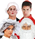 Enter-Deal-Berlin Brille oval Weihnachtsmann alte Frau Oma Großmutter Greisin Alter Opa Großvater Mann Männer