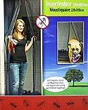Selbstschließendes Fliegennetz v. GYD für Türen und Fenstern 220x100 cm Moskitonetz Magnet Fliegengitter Tür Insektenschutz 90x210 cm / 100x220 cm, Der Magnetvorhang ist Ideal für die Balkontür, Kellertür, Terrassentür