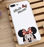 Coque iPhone 6/6S Minnie Disney Effet Miroir Coquefone