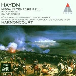 "Haydn : Messe ""in Tempore Belli"" (Paukenmesse) ; Salve Regina"