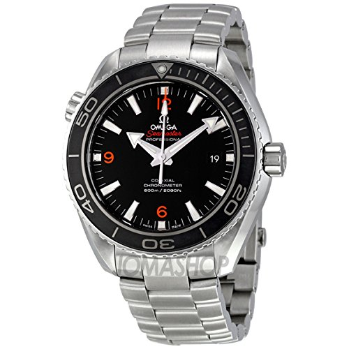 Omega Omega Large Plant Ocean Black Dial Automatic Stainless Steel Mens Watch 23230462101003