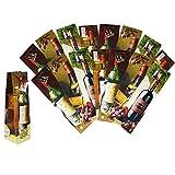 com-four® Geschenktüte Tüte Geschenk Geschenkverpackung Geschenktasche Präsent (16er Set)