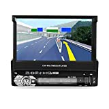 Lettore MP5 per auto, LESHP 7 'HD Touch Screen Navigatore GPS Bluetooth Radio 1 din per auto FM / AM...