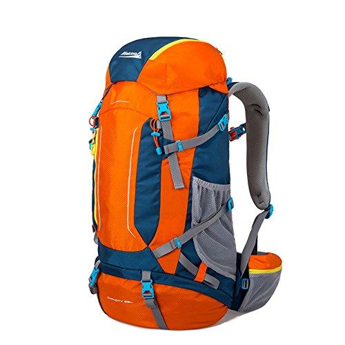 Im Freienberg Taschen/Rucksack Rucksäcke-gelb 60L Orange 1