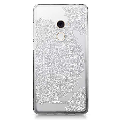 CASEiLIKE® Funda Mi Mix 2, Carcasa Xiaomi Mi Mix 2, Arte de la Mandala 2091, TPU Gel Silicone Protectora Cover