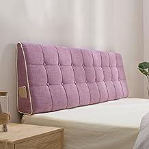ZfgG Respaldo Triángulo Cojín Lumbar Soporte Lecho Lavable Alfombra Dormitorio Lavable, 10 Colores Sólidos,