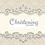 Christening Guest Book: Keepsake Message Log With 100 - Best Reviews Guide