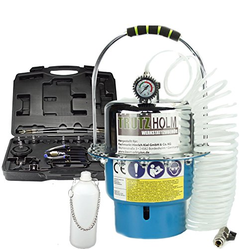 Trutzholm® Bremsenentlüftungsgerät Druckluft Bremsenentlüfter Entlüftungsgerät 5 L