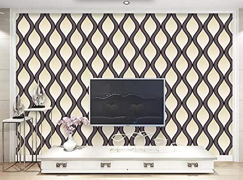 Fototapete 3D Effekt Geometrische Polster Einfache Linien Und Tapeten Vliestapete 3D Tapete Moderne Wandbilder Wanddeko -