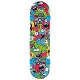 Xootz Kinder-Skateboard für Absolute Anfänger Double-Kick-Trick –Ahorndeck