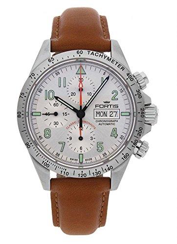 Fortis Reloj los Hombres Classic Cosmonauts Cronógrafo Steel a.m. Automática 401.21.12 L 28